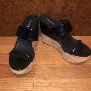 Prada Platforms Size 41 LIKE NEW
